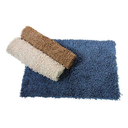 MAURER Tappeto bagno Extra in cotone colore azzurro cm 50x70 Maurer
