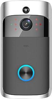 Wireless Doorbell, Smart Wireless WiFi Visual Doorbell 720P PIR Video Phone Security Camera