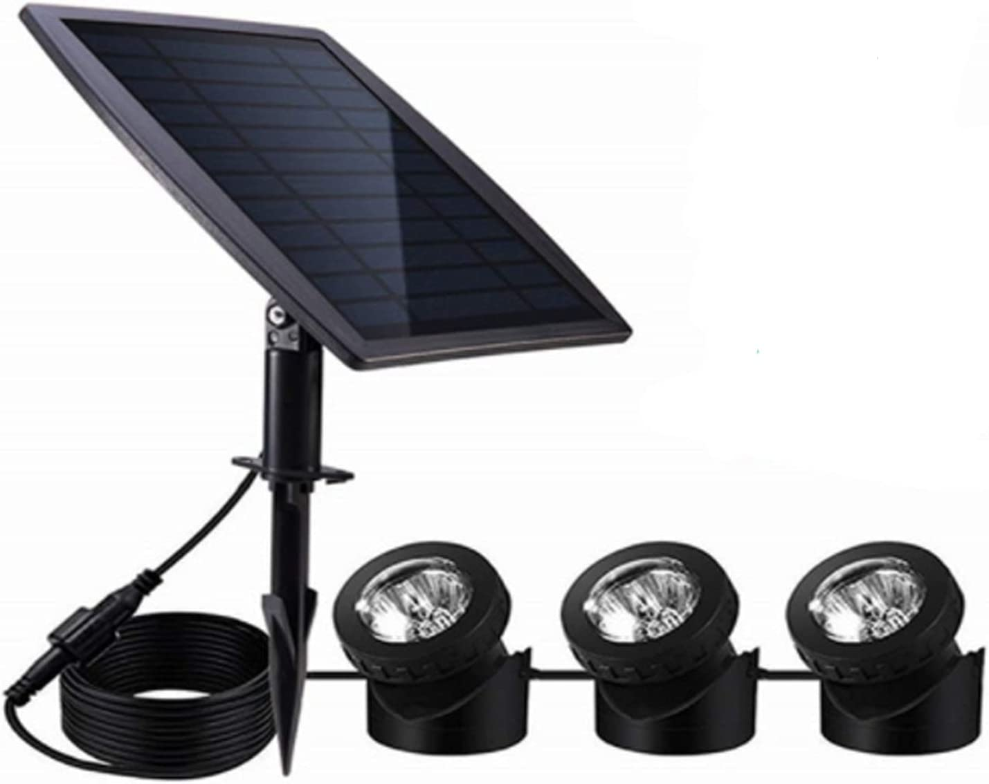 Solar Pond Lights Outdoor Landscape New life LED Submersible Waterproof Cheap mail order specialty store