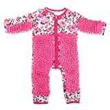 Baby Strampler Outfit Säugling Kleinkind Poliert Böden Reinigung Kostüm Kleidung – Rose Rot, 85 cm Rose Rot 85 cm
