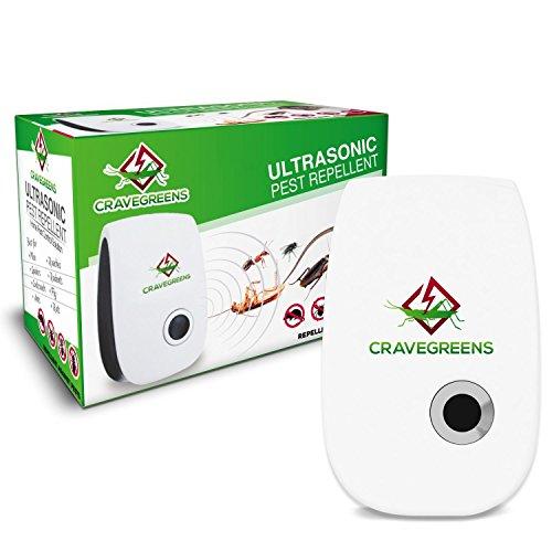 Cravegreens Dual Microchip Ultrasonic Pest Repeller