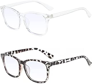 Bril met blauw lichtfilter, anti-blauw lichtglazen, leesbrillen, anti-blauwe filterglazen, anti-stralingsglazen, die blauw...