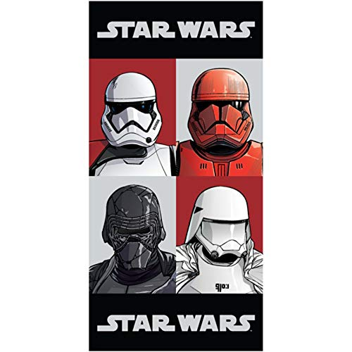 Jerry Fabrics Star Wars Badetuch, Baumwolle, 70 x 140 cm