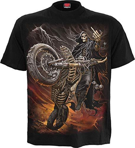 Spiral Bike Life Camiseta Negro