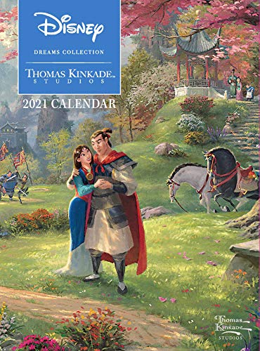 Thomas Kinkade: The Disney Dream Collection 2021: Original Andrews McMeel-Tischkalender