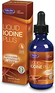 Life-flo Iodine Plus Drops | 150 mcg Iodine Per Serving | Healthy Thyroid, Energy & Metabolism Support | Formulated for Hi...