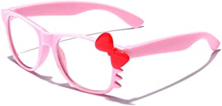 Kids Hello Kitty Baby Toddler Infant Girls Boys Non-Prescription Clear Lens Glasses Age up to 4