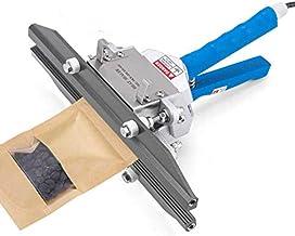 InLoveArts handkrimpverzegeling, 10 mm verzegelingsbreedte krimpverzegeling machine temperatuurregeling 0-300 ° C draagbar...