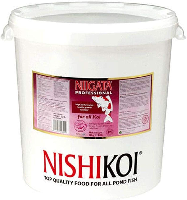 Pet's House 10kg NISHIKOI NIIGATA PROFESSIONAL KOI FOOD LARGE PELLET FISH POND FEED PELLETS