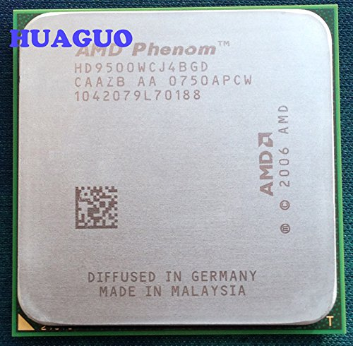 AMD Phenom X495002.2GHz procesador CPU de cuatro núcleos 2MB caché hd9500wcj4bgd Socket AM2+ 95W