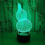 FREEZG lamparitas de noche dormitorio Calabaza niños creatividad arte USB Recargable Infantil LED Brillos Ajustables Colores RGB con Mando Luz para Bebe Silicona Suave para Habitación Dormitorio Sala