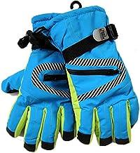 MU Wodoodporne rękawice termiczne do jazdy na nartach i snowboardzie termiczne dla juniorów chłopców i dziewcząt dzieci zi...