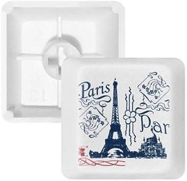DIYthinker Francia París Torre Eiffel Dibujo Lineal PBT ...
