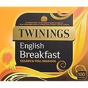 Twining English Breakfast 100 Tea Bags (Pack of 4, total 400 Tea Bags)