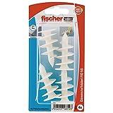 Fischer 16810 Lot de 4 Fixations pour isolants FID 50 K