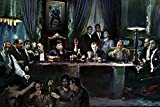 Gangster Last Supper by Ylli Haruni 36x24 Art Print Poster
