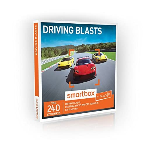 dc3a0098 Buyagift Driving Blasts Gift Experiences Box - 240 driving days from off  road thrills to exhilarating