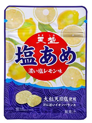 天塩 塩あめ 濃い塩レモン味 31g ×10袋