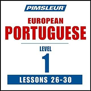 Pimsleur Portuguese (European) Level 1, Lessons 26-30 cover art