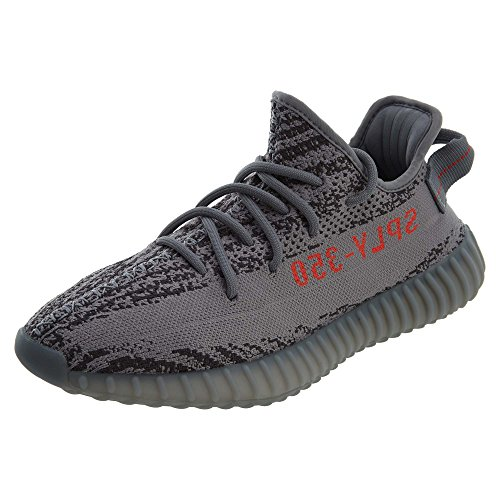 "adidas Mens Yeezy Boost 350 V2 Beluga 2.0"" Grey Fabric Size 9.5"