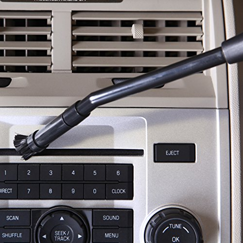 Multi-Fit Wet Dry Vacuum Accessories VT1215 Vacuum Micro Cleaning Kit Vacuum Attachments For Compact Wet Dry Shop Vacuum