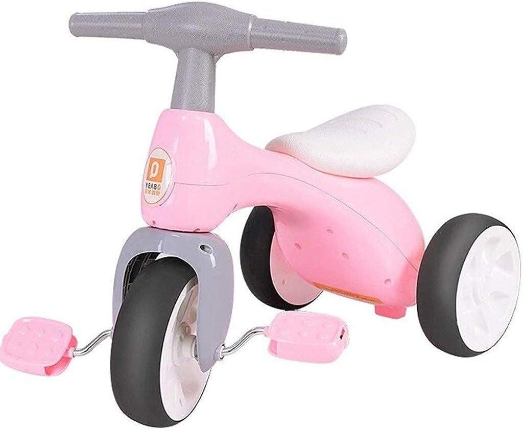 LINZI Trikes Children Bicycle, Triciclo para niños Cochecito de bebé Scooter para niños Triciclo para niños 1-3-5 años de Edad Bicicleta Chicos y niñas Juguetes Regalo de cumpleaños