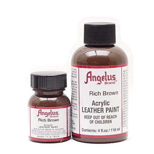 Angelus Acryl Lederfarbe Rich Braun 29,5ml