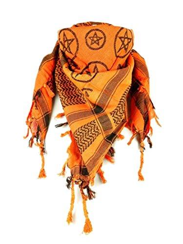 armardi a OLP Chiffon pentagramme Orange Orange