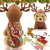 RFDFG - Ropa de perro para Halloween, disfraz de perros, gatos, sudaderas con capucha para perros chihuahua, invierno para mascotas, ropa para perros pequeños, gatos o Navidad, como en la imagen4, L