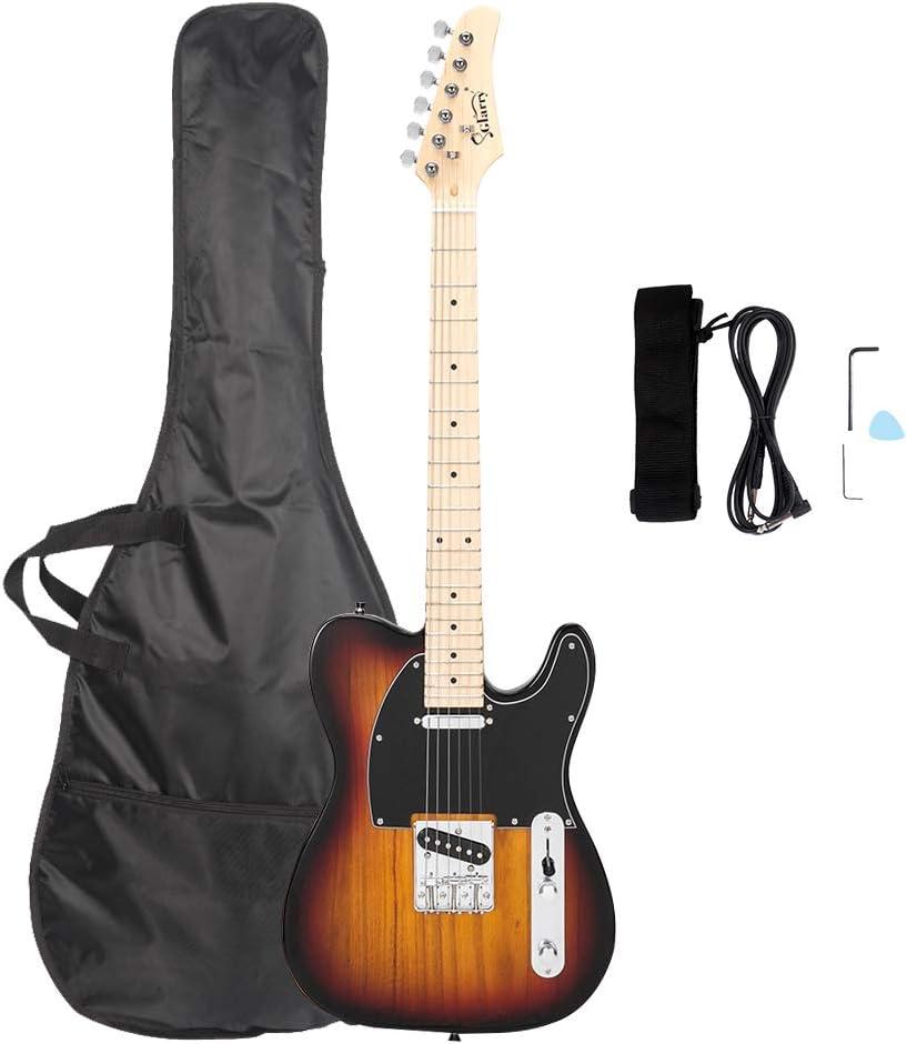 Electric Guitar Animer and price revision Kit Bundle Sta Under blast sales Beginner -