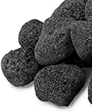GASPRO 10 Pound Lava Rocks, 3 - 5 Inch Large Lava Rock for Fire Pit, Gas Fireplace, Propane or Natural Gas, All-Natural