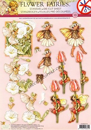Die Cut Découpage Sheet - Flower Fairies 18