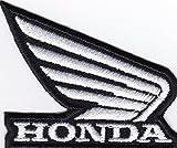 MAREL Parches Honda Moto Ali Racing Corse Logo 6 x 5 cm parche bordado réplica -1119 b
