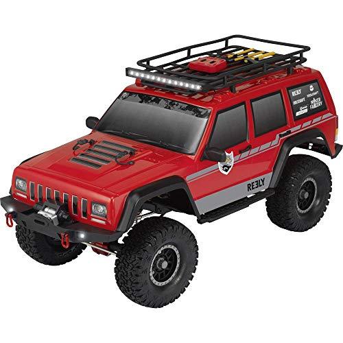 Reely Free Men Pro Brushed 1:10 RC Modellauto Elektro Crawler Allradantrieb (4WD) 100% RTR 2,4 GHz inkl. Akku, Ladegerä