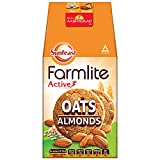 Sunfeast Farmlite Active Oats with Almonds Biscuits, 150g