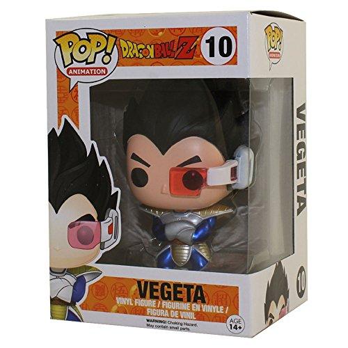 Funko 599386031 - Figura Dragon Ball z - Vegeta metalico