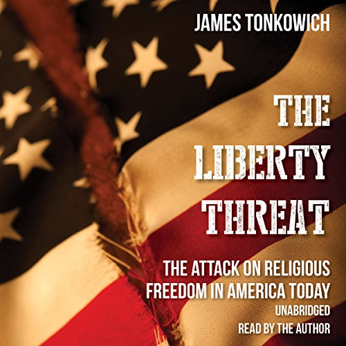The Liberty Threat audiobook cover art