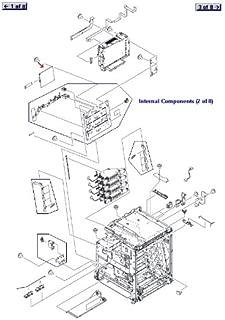 HP CLJ 4730 DC Controller RM1-2346-RO