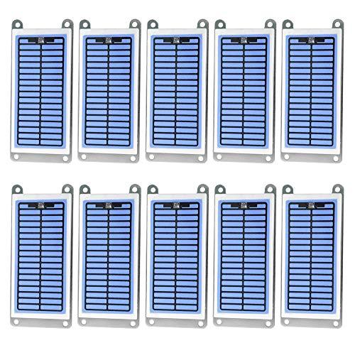 Tickas Generador portátil para el hogar Ozonizador de cerámica integrado Purificador de agua y aire Piezas 6 g/h Placa de ozono,Placa de ozono del generador casero