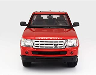TZSMCMX Model Car 1:18 Land Rover Range Rover SUV Simulation Alloy Die-Casting Toy Ornaments Sports Car Collection Jewelry 25.7x12x9.5CM Model Car
