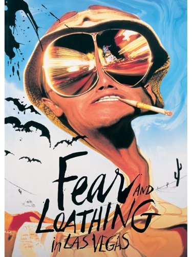 Empire 205346 Fear and Loathing in Las Vegas - Benicio Del Toro, Film Poster ca. 91,5 x 61 cm