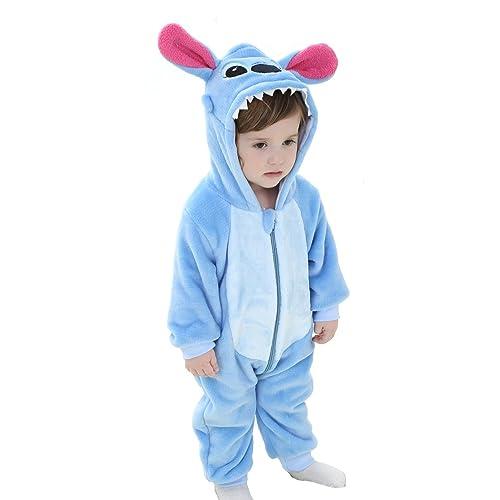 86b8575f225f Tonwhar Unisex-Baby Animal Onesie Costume Cartoon Outfit Homewear