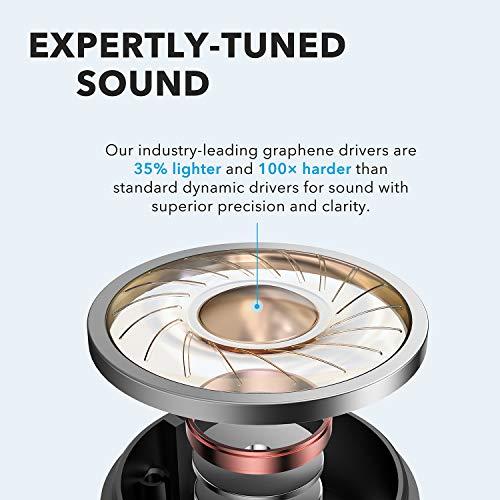 Anker Soundcore Life P2 Auriculares Bluetooth inalámbricos con microfono, 40 Horas de reproducción, IPX7 Impermeable, reducción de Ruido para Trabajar o Viajar