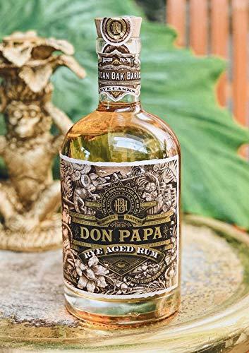 Don Papa Rye Aged Rum - 40° - 70cl - avec Etui