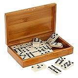 Lixada Double Six Dominos Set Divertissement Divertissement...