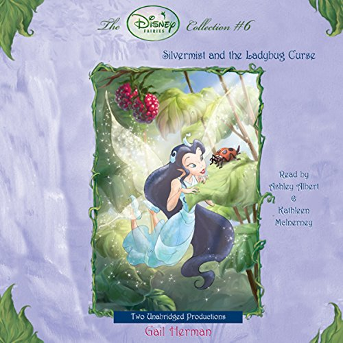 Disney Fairies     Silvermist and the Ladybug Curse              By:                                                                                                                                 Gail Herman                               Narrated by:                                                                                                                                 Kathleen McInerney                      Length: 1 hr and 17 mins     5 ratings     Overall 4.6