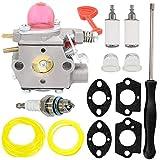 HOOAI 545081855 Carburetor for Poulan Craftsman Gas Pro Blower BVM200C BVM200VS P200C Walbro