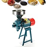 220V 1500W Electric Grain Mill Grinder Heavy Duty,Electric Feed Flour Mill Cereals Grinder Grain Corn Coffee...