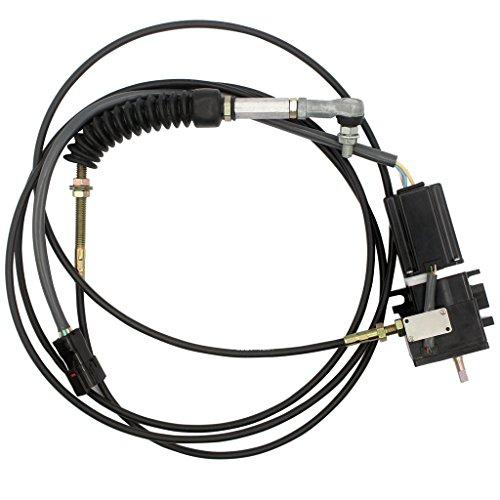 Actionneur d'accel SINOCMP 22B-43-11141 - Prise carrée pour moteur pas-à-pas Komatsu PC78UU PC128UU PC228 PC228US-2 PC228US-1 pièce