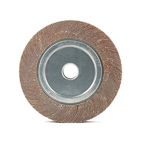 Rueda de acompañamiento de fieltro, almohadilla de pulido de fieltro de lana, carpa abrasiva rueda emerio tela de arena disco de lijado para molienda de molienda de fabricación de automóviles de metal